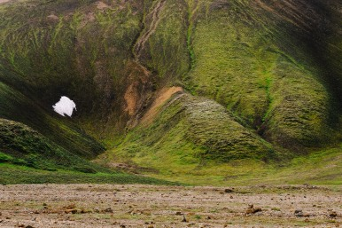 The greens of the Icelandic highlands were really varied and surreal